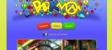 Cabecera de la web de Parkmom, logotipo y galeria