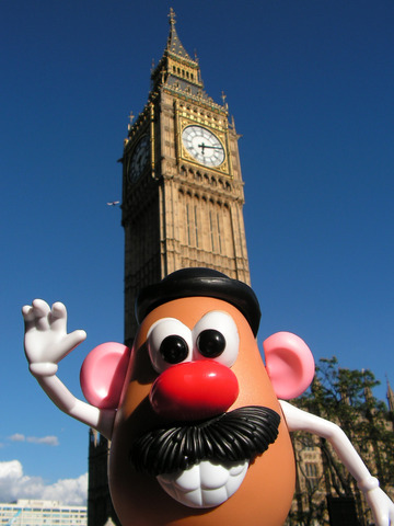 Mister Potato en Londres
