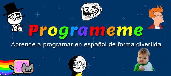 Página para aprender a programar en español de forma divertida